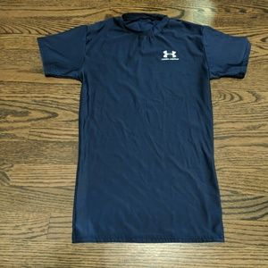 Under Armour Navy Blue Shirt - size large